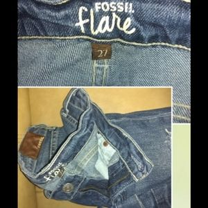 Fossil Jeans - *5 for $30* FOSSIL DISTRESSED FLARE JEANS